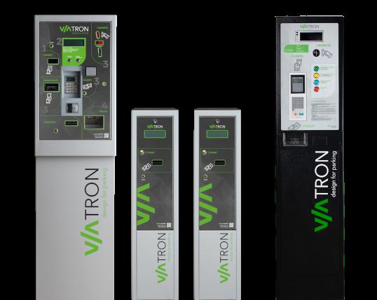 La suite di prodotti Viatron per la gestione delle aree di parcheggio